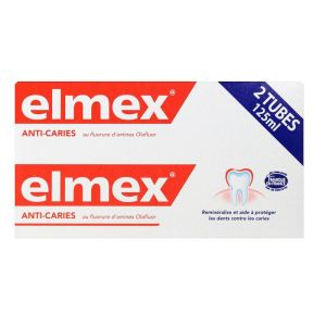 Elmex Dentifrice Lot/2x125ml