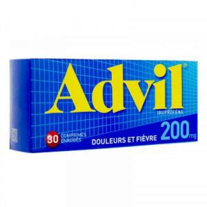 Advil 200mg Cpr Bte/30