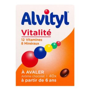 Alvityl Plus Cpr Bte/40