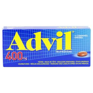 Advil 400mg Cpr 14