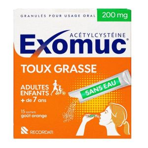 Exomuc 200mg Grl Stick 15
