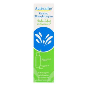 Actisoufre Pulv Nasal/buc Fl/1