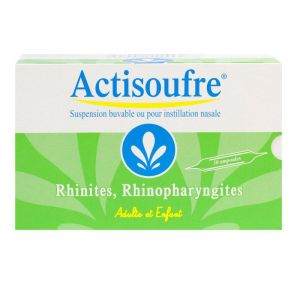 Actisoufre Amp Buv Nas Bte/30