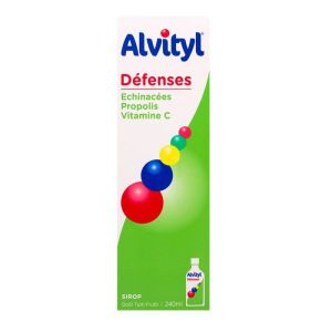 Alvityl Defenses Sirop Fl/240m