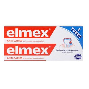 Elmex Dentifrice Lot/2x75ml