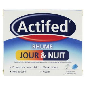 Actifed Jour Et Nuit Cpr Bte/1