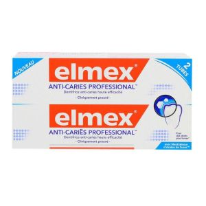 Elmex Anti-caries Pro Lot/2x75